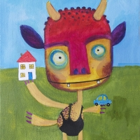 monster juggling 8x10 small